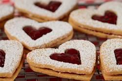 Winter Recipe: Linzen Hearts