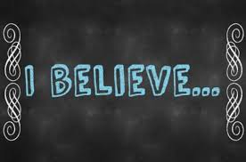 """I Believe"" Statements"